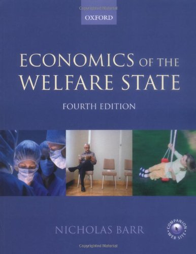 Economics of the Welfare State por Nicholas Barr