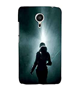 For Meizu MX5 man, back man, abstract, abstract background Designer Printed High Quality Smooth Matte Protective Mobile Case Back Pouch Cover by APEX