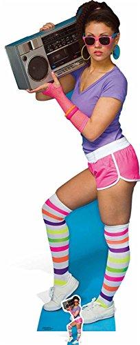 hre - Neon Boombox Girl Pappaufsteller Standy - ca 177 cm ()