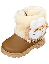 Botas Bebe Niñas Invierno, Zolimx Bebé Niños Chicos Chicas Martin Sneaker Patucos Zapatillas Calientes de Bebé Zapatos Casuales