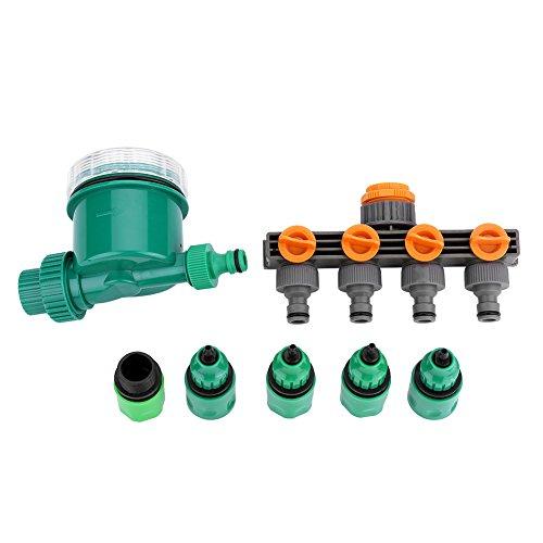 Delaman Timer Per Irrigazione Kit Per Il Controllo Dell Irrigazione Elettronico Lcd Automatico Timer Dell Acqua Per Giardino Con Splitter Per Tubi A