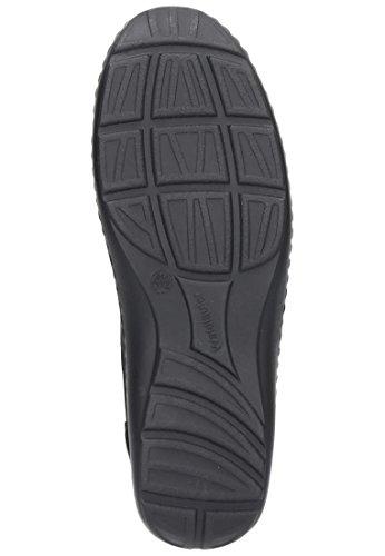 Waldl?ufer Damen Schnuerschuhe, schwarz, 950592-1 schwarz