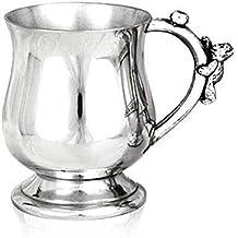 English Pewter Company Teddy Bear, Pewter Cup del bambino. Personalizzabile con incisione gratuita