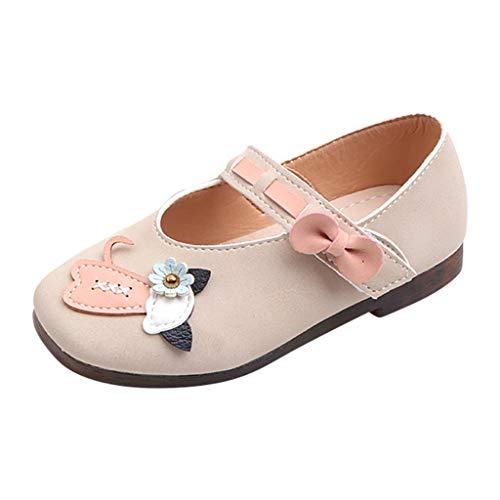BURFLY-Baby süße Blumensandalen, Mädchen süße Katze Einzelprinzessin Schuhe, Mädchen Sandalen Outdoor Erbsenschuhe