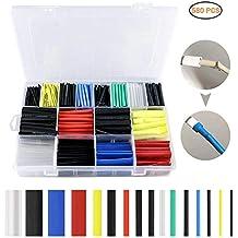Schrumpfschlauch 1Meter verschiedene Farben und Größen 2:1