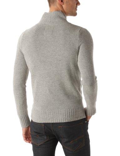 Calvin Klein Jeans Herren Pullover CMR19BKLE1G Grau (M92)