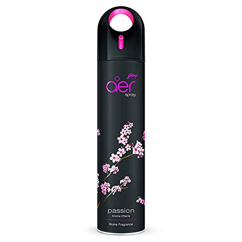 Godrej aer spray, Premium Air Freshener - Passion (270 ml)