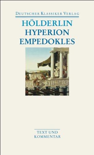 Hyperion/Empedokles (Deutscher Klassiker Verlag im Taschenbuch)