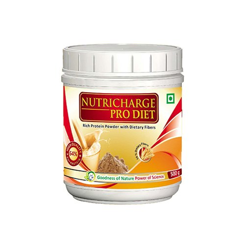Nutricharge Pro Diet - Soy Isolate Protein with Fibres - 500 gms
