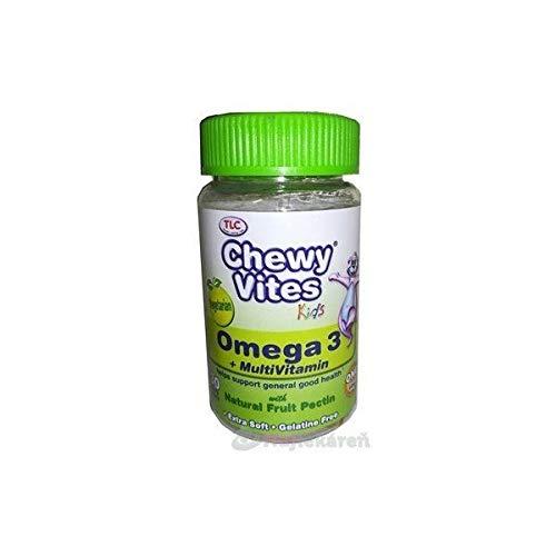 Tlc/Tender Loving Care Ltd | Chewy Vites Kids Omega 3 Tablets | 1 x 30s (DE) -