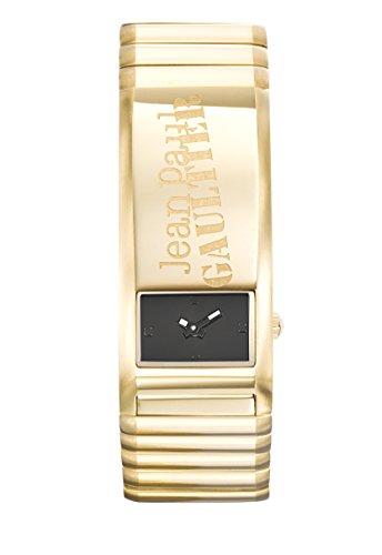 Orologio uomo–Jean Paul Gaultier–identite–Bracciale Acciaio PVD Oro–22,6* 49,6mm–8503705