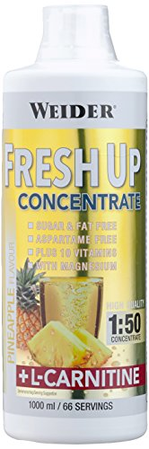 Weider, Fresh up Konzentrat, Ananas, 1er Pack (1x 1l)
