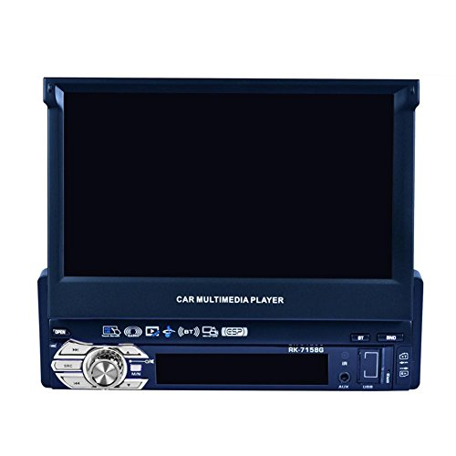 Prettygood7 17,8 cm (7 Zoll) HD Flip Up GPS Navigation Auto Stereo MP3 Player Karte Europa