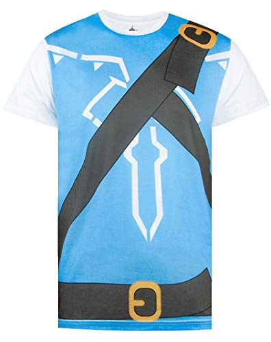 Legend Zelda Kostüm Shirt Link Of - Official The Legend of Zelda Breath of The Wild Costume Cosplay T-Shirts