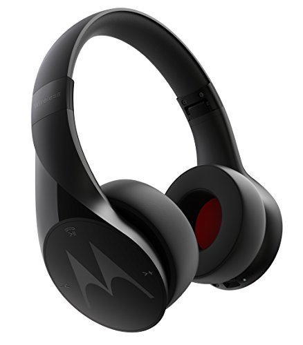 Motorola Pulse Escape Wireless Over-Ear Headphones (Black)