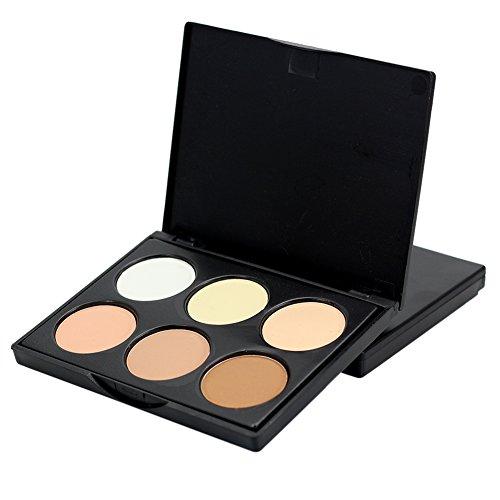 Cutelove Maquillage Contour kit Highlight et poudre bronzante Palette – 6 couleurs