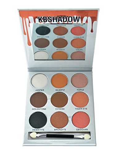 Kiss Beauty KBSHADOW Pressed Powder Eyeshadow Palette (Set 2)