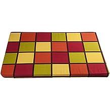 Colchoneta para Perros y Gatos 100x60x5 Cuadros de Colores