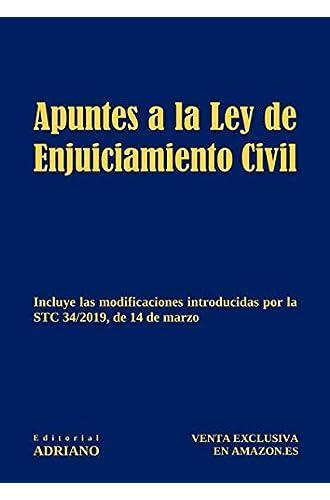 Apuntes a la Ley de Enjuiciamiento Civil