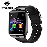 Styleflix Smartwatch Bluetooth with Camera Sim Card Supported, Health Fitness Tracker Smart Watch