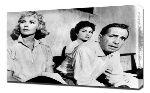 Pingoo Stampe Bogart, Humphrey (Beat The Devil) 5,1cm Stampa Artistica, Tela,, 60x 90x 5cm