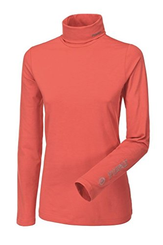 pikeur-sina-womens-long-sleeved-roll-neck-coral-medium
