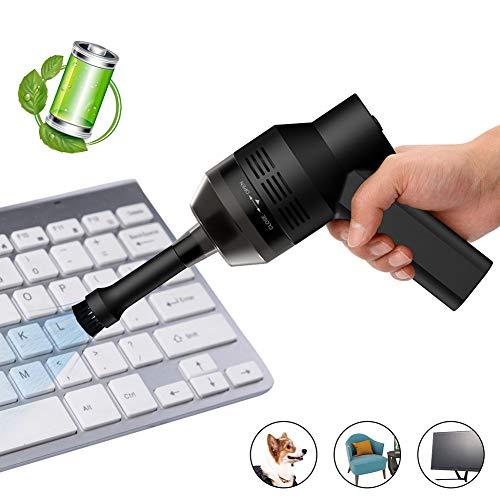Mini Aspirapolvere, zonpor Aspiratore Portatile senza Fili, Pane Riutilizzabile con Batteria Li Pulitore per USB Tastiera Aspiratore, per La Pulizia di Polvere Capelli Briciole Laptop
