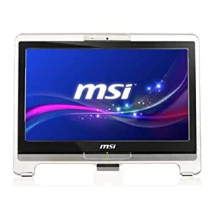 MSI AE1941-003XEE 18.5 inch All-In-One Desktop PC (Intel Celeron 1.2GHz, 320GB HDD, 4GB RAM, Touch Screen, Wi-Fi, USB 2.0, Card Reader, No Operating System)