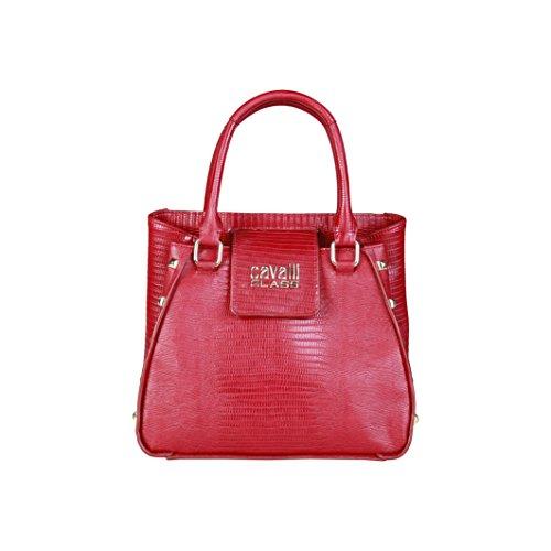 Cavalli Class - Sac porté épaule pour femme (C41PWCBH0042_060-RED) - Rouge