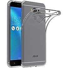 """Funda ASUS ZenFone 3 Max ZC553KL, AICEK ASUS ZenFone 3 Max Funda Transparente Gel Silicona ASUS ZenFone 3 Max Premium Carcasa para ZenFone 3 Max 5.5"""""""