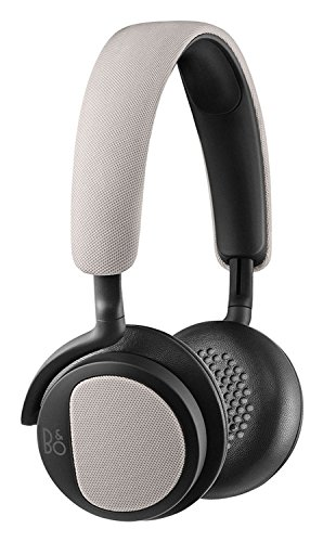 B&O PLAY by Bang & Olufsen H2 Cuffie On-Ear Ultraflessibili con Microfono e Telecomando, Argento