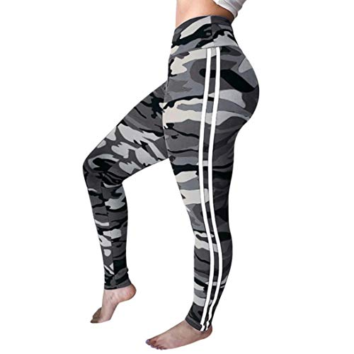 garderobe goa JERFER Damen Mode Trainieren Leggings Fitness Sporthalle Laufen Yoga Sportlich Hose