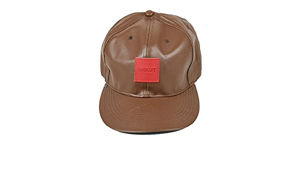 6ac57b2fe41 Tiekart men brown plain solids winter caps  Amazon.in  Clothing    Accessories