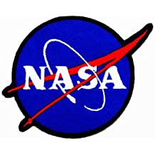 NASA LOGO(blue colour) EMBROIDERED IRON ON PATCH