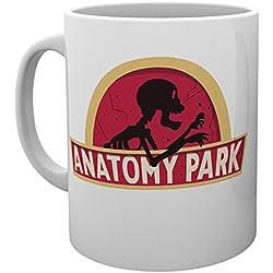 GB Eye LTD, Rick y Morty, Anatomy Park, Taza