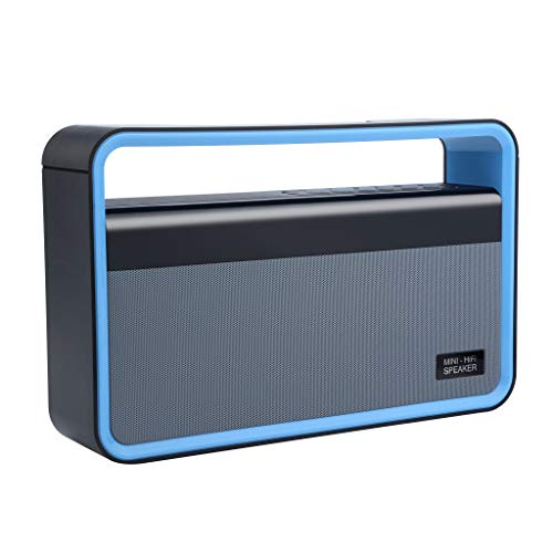 Tensay Bluetooth Lautsprecher mit Dual Treiber Bass, portable kabellos Speaker Boombox für Hervorragender Klang & Bass - Radio Portable Boombox