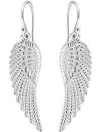 b695647b6040d Tuscany Silver Sterling Silver Angel Wing Drop Earrings