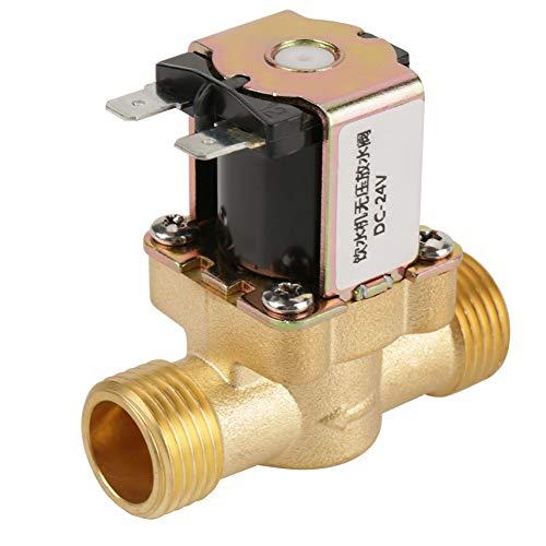 Messing Magnetventil BSPP N/C normalerweise geschlossen Feed Wasser Elektrisches Ventil 2 Wege Druckregelventil G1/2