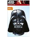 Star Wars - Careta de Darth Vader, color negro (Rubie's 32413)