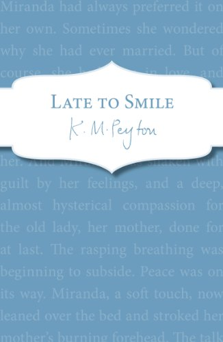 Late To Smile (English Edition)