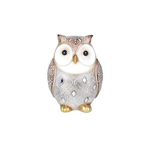 Vidal Gifts Decorative Figure Owl Resin 12 cm
