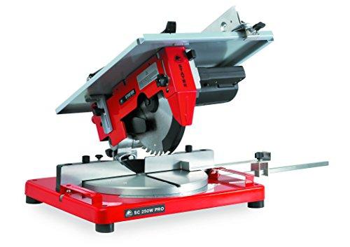 STAYER 1.1377 - Ingletadora con mesa superior motor de escobillas 1500W disco 254x30 mm 3800 rpm 14,5 Kg SC 250 W PRO