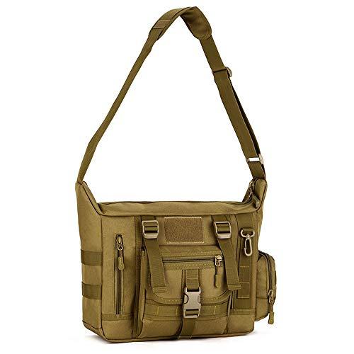 aaa9d17c7a9c ZJY Tactical Crossbody Messenger Bag Molle Large Waterproof Laptop Pack  Haversack