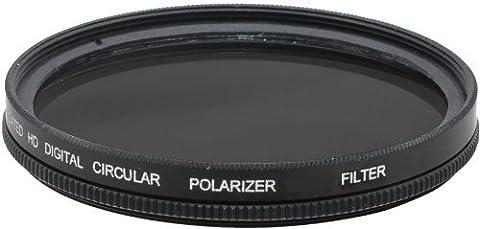 52 mm Filtre polarisant circulaire pour Nikon D3000, D3100, D3200,
