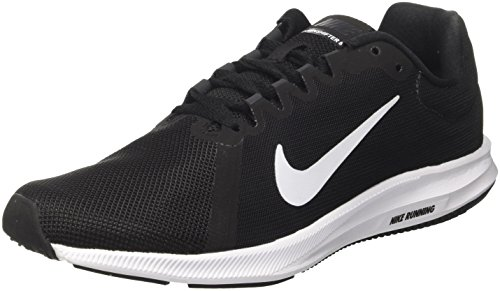 Nike Downshifter 8, Scarpe Running Uomo, Nero (Black/White-Anthracite 001), 38.5 EU