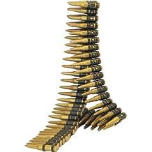 Smiffys - cinturón con balas para disfraz de militar (más de 5 años)