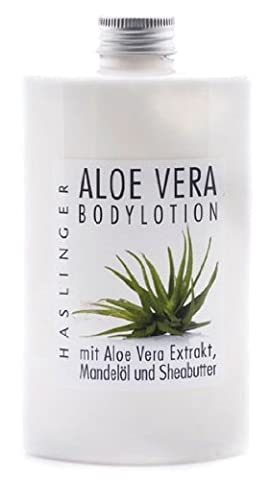 Bodylotion Aloe Vera, Körpermilch mit Aloe Vera Extrakt, 200 ml (Aloe Vera Bodylotion)