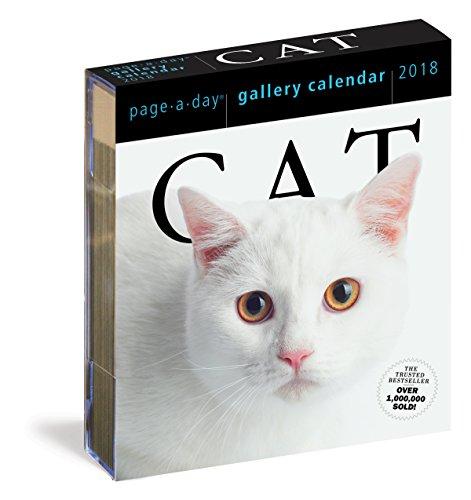 Cat Gallery Calendar 2018