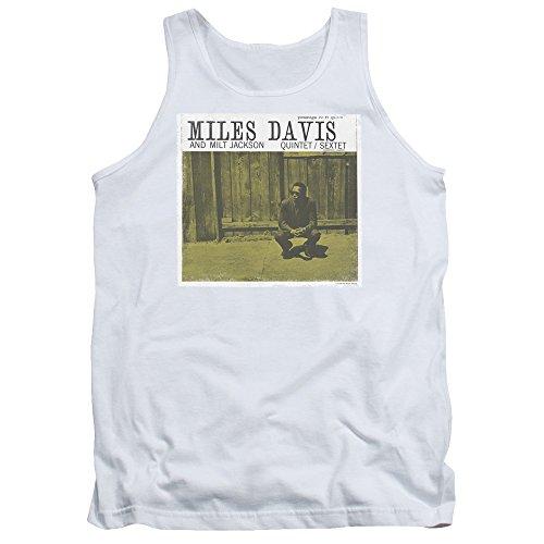 Davis, Miles Herren Pullunder Weiß