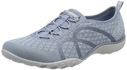 Bild von Skechers Damen Breathe Easy-Fortune Knit Sneaker, blau